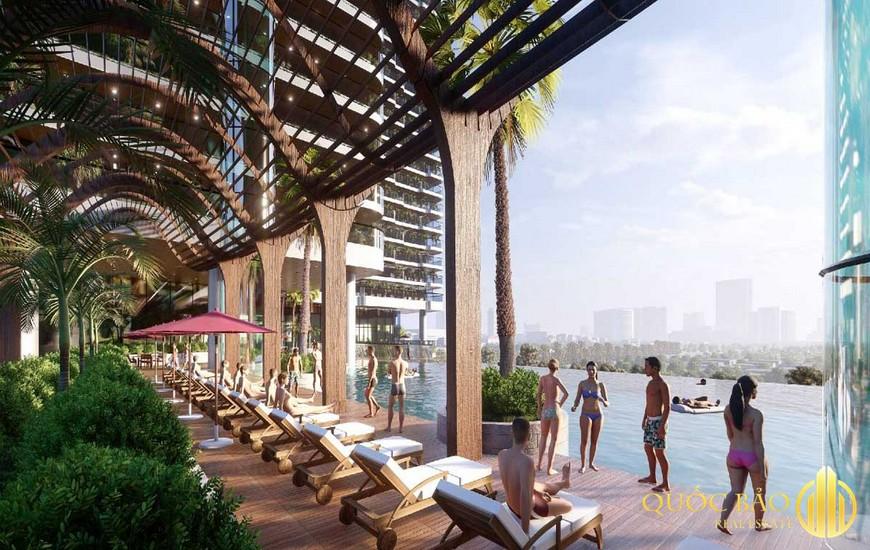 Tiện ích hồ bơi dự án Honas Residence