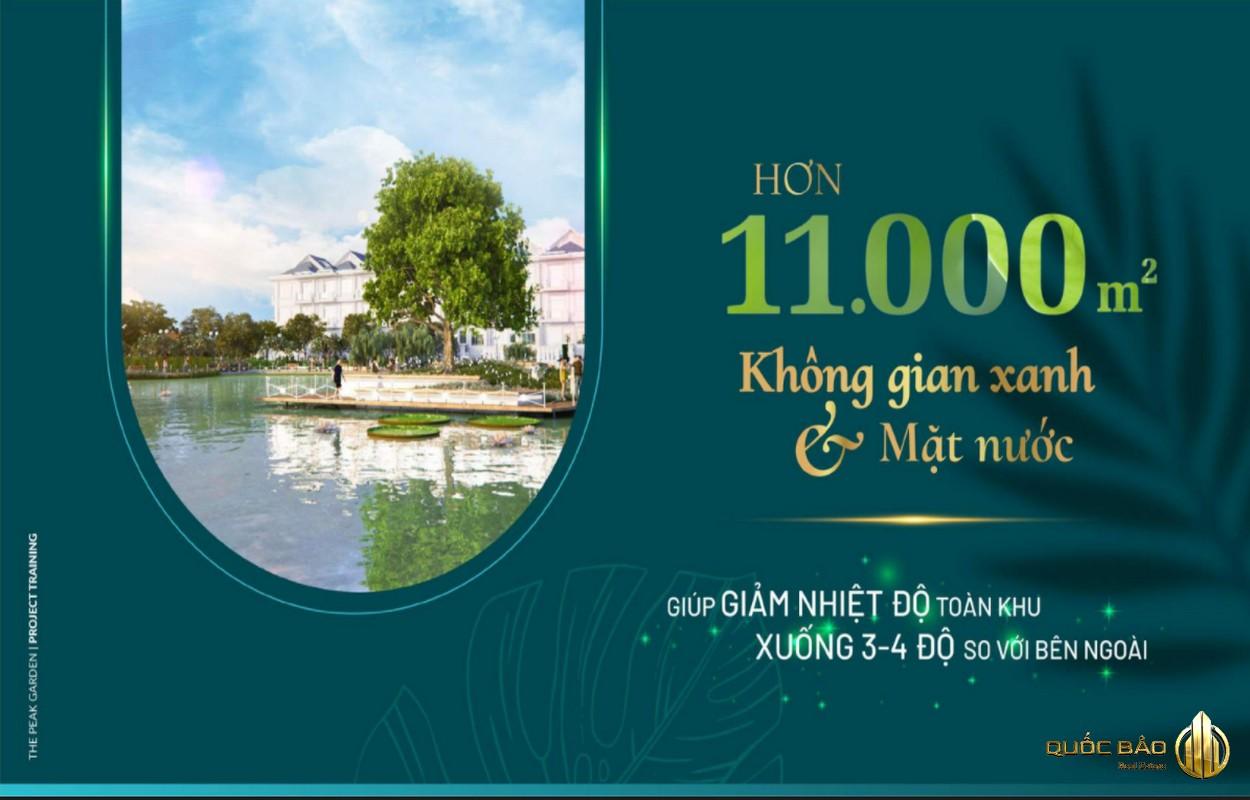 The Peak Garden Quận 7 sở hữu 11.000 m2 không gian xanh và mặt nước